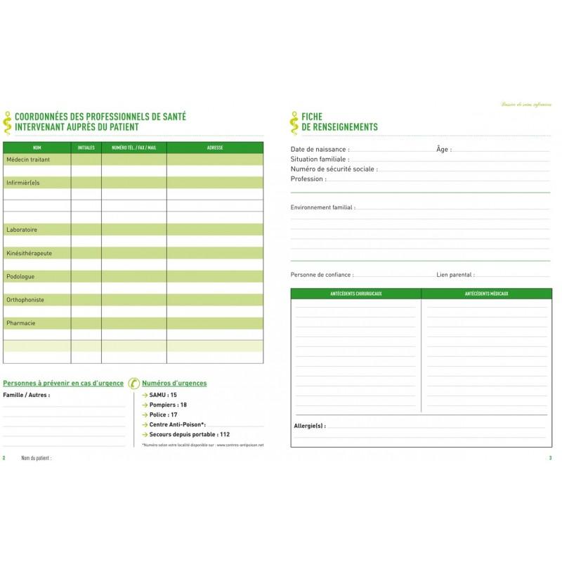 Beliebt Dossier de soins infirmiers pour DSI - Dossier de transmission LN87